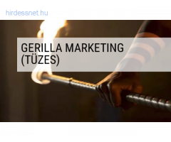 Tűzzsonglőrökkel gerilla marketing